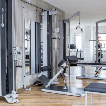 Gerätegestütztes Training Fitnessstudio | Gesundheitstraining