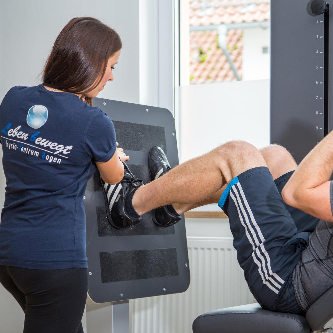 Gerätegestütztes Training Fitnesstraining | Gesundheitstraining - Physio-Zentrum Bogen